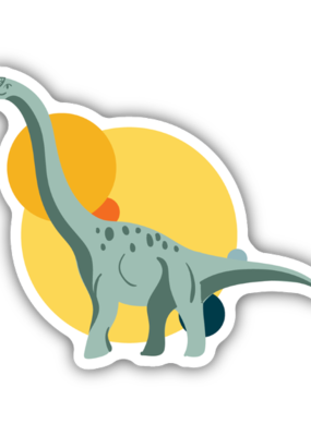 Stickers NW Sticker Brontosaurus