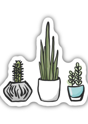 Stickers NW Sticker Potted Plants