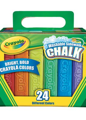Crayola Sidewalk Chalk 24 Piece