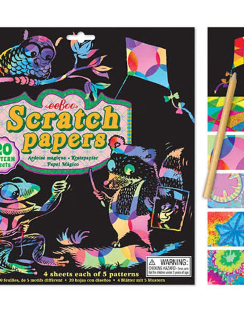 eeBoo Scratch Papers Pattern