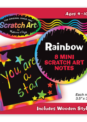 Scratch Art Scratch Magic Mini Notes