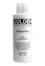 Golden Golden Fluid Acrylic Titanium White 4 Ounce