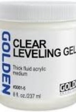 Golden Golden Acrylic Clear Leveling Gel 8 Ounce