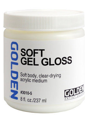 Golden Golden Acrylic Soft Gel Gloss 8 Ounce