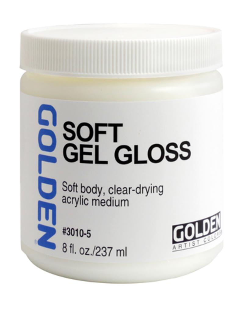 Golden Golden Acrylic Soft Gel Gloss 8 Ounce
