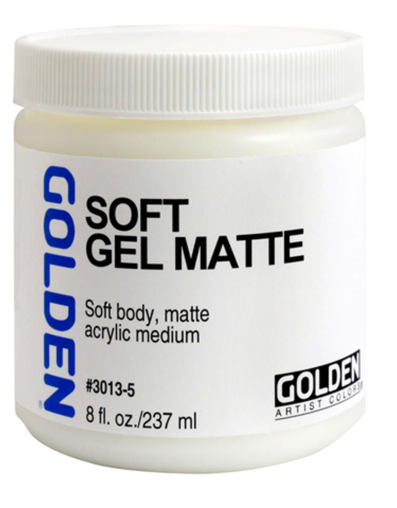 Golden Golden Acrylic Soft Gel Matte 8 Ounce