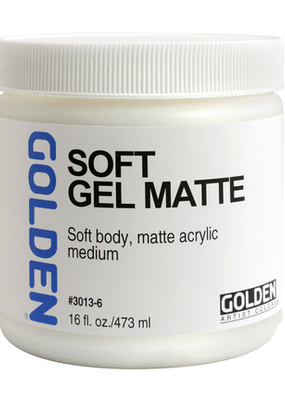 Golden Golden Acrylic Soft Gel Matte 16 Ounce