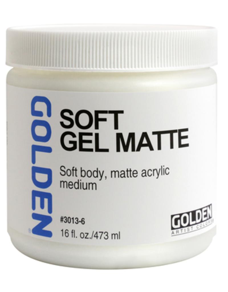Golden Golden Acrylic Soft Gel Matte 16 Ounce
