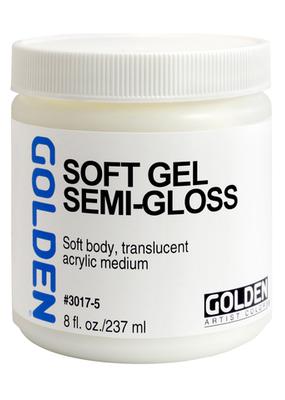 Golden Golden Acrylic Soft Gel Semi Gloss 8 Ounce