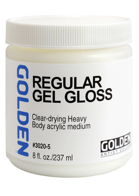 Golden Golden Acrylic Regular Gel Gloss 8 Ounce