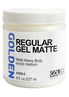 Golden Golden Acrylic Regular Gel Matte 8 Ounce