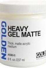 Golden Golden Acrylic Heavy Gel Matte 8 Ounce