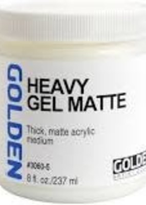 Golden Golden Acrylic Heavy Gel Matte 8 Ounce