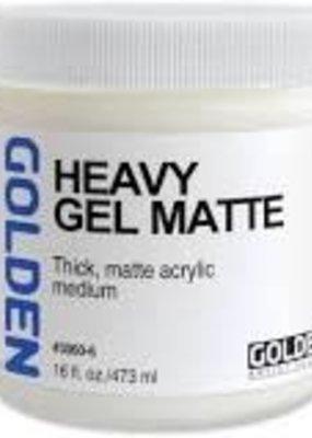 Golden Golden Acrylic Heavy Gel Matte 16 Ounce