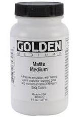 Golden Golden Acrylic Matte Medium 8 Ounce
