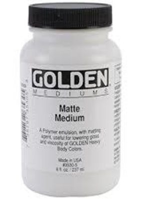 Golden Golden Acrylic Matte Medium 8 Ounce
