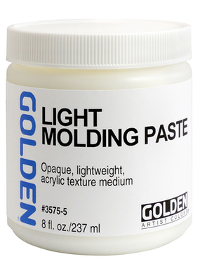 Golden Golden Acrylic Light Molding Paste 8 Ounce