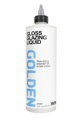 Golden Golden Acrylic Glazing Liquid Gloss 16 Ounce