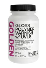 Golden Golden Acrylic Polymer Varnish Gloss 8 Ounce