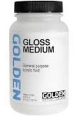 Golden Golden Acrylic Gloss Medium 8 Ounce