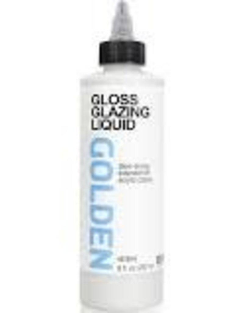 Golden Golden Acrylic Glazing Liquid Gloss 8 Ounce