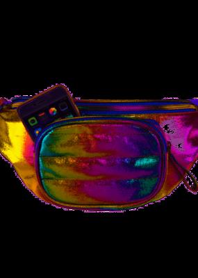 3C4G Cosmic Rainbow Belt Bag