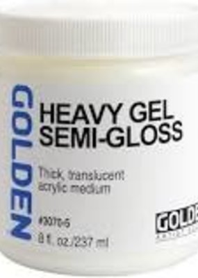 Golden Golden Acrylic Heavy Gel Semi-Gloss 8 Ounce