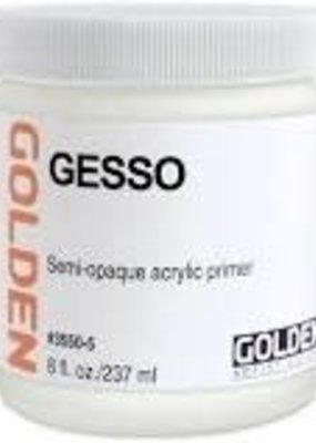 Golden Golden Acrylic White Gesso 16 Ounce