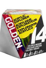 Golden Golden Acrylic Explorer 14 Piece Set