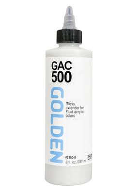 Golden Golden Fluid Acrylic GAC 500 Gloss Extender