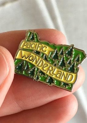 ACBC Enamel Pin Pacific Wonderland