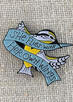 ACBC Enamel Pin She Flies