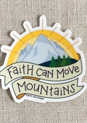 ACBC Sticker Faith Can Move Mountains