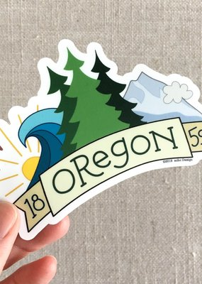 ACBC Sticker Oregon 1859