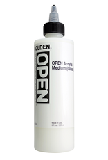 Golden Golden Acrylic Open Medium Gloss 8 oz