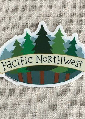 ACBC Sticker Pacific NW Trees