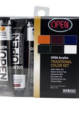 Golden Golden Open Acrylic Traditional Color 6 Piece Set