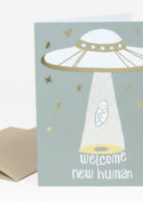 Alison Cole Card Welcome New Human