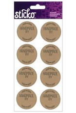 Sticko Sticker Handmade Labels 8pc