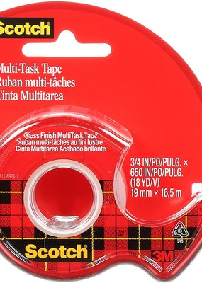 3M Scotch Tape Multi-Task .75 x 18 Yards