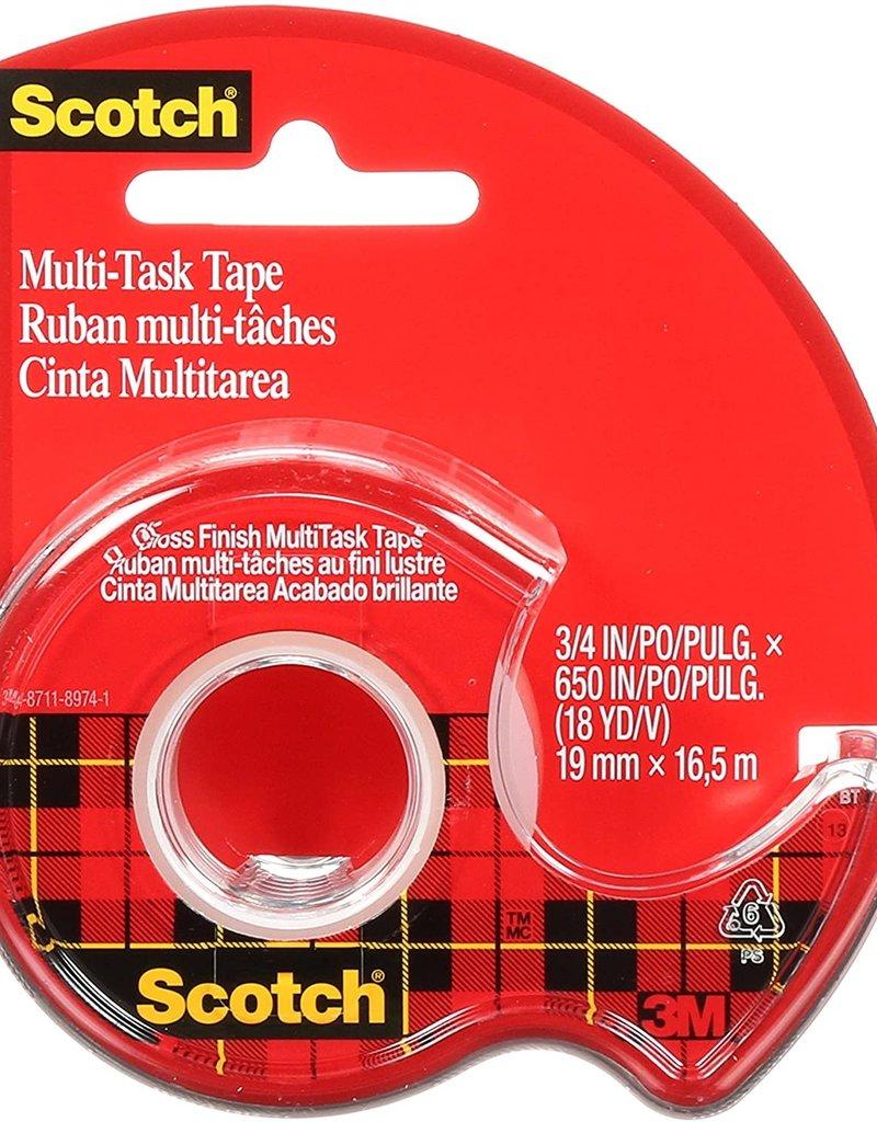 3M Scotch Tape Multi-Task .75 x 18 Yards