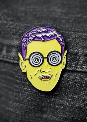 Archie McPhee Enamel Pin Monster Guy