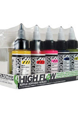 Golden Golden High Flow Acrylic 5 Color 3 Marker Set