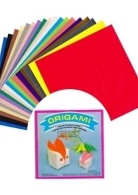 "Aitoh Origami Paper 6"" 500 Sheets Bulk Pack Assorted Colors"