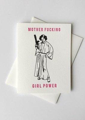 Steel Petal Press Card MF Girl Power