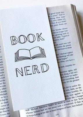 Steel Petal Press Bookmark Book Nerd