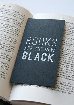 Steel Petal Press Bookmark New Black