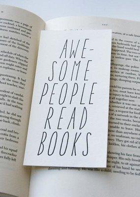 Steel Petal Press Bookmark Awesome People Read