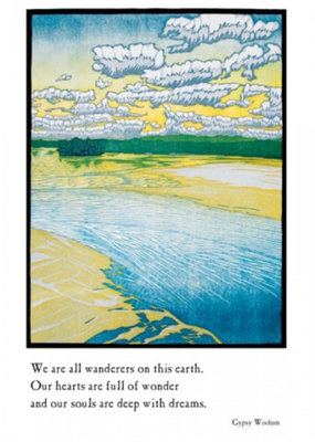 Artists to Watch Card Sand in Accordance to Water