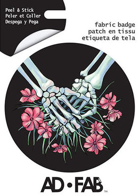 Ad-Fab Adhesive Fabric Patch Intertwined